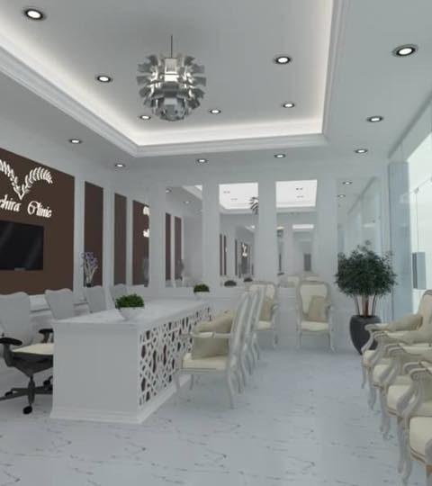 งานปรับโครงสร้างอาคาร ออกแบบและตกแต่งภายใน วชิรา คลินิก สาขา รังสิต